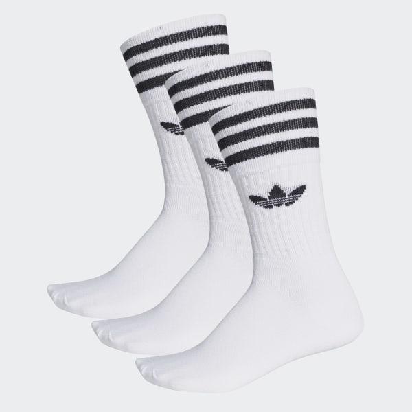 adidas Calcetines Clásicos Solid Blanco | adidas Mexico