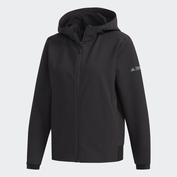 Adidas Consortium Day One Men Softshell Track Jacket (black)
