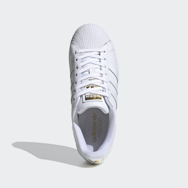Chaussure femmes Superstar Bold Blanc adidas   adidas France