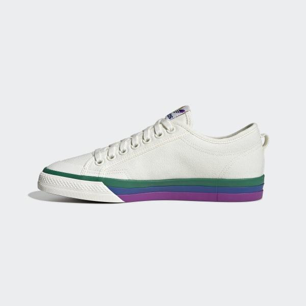 adidas Nizza Pride Schoenen - Wit   adidas Officiële Shop