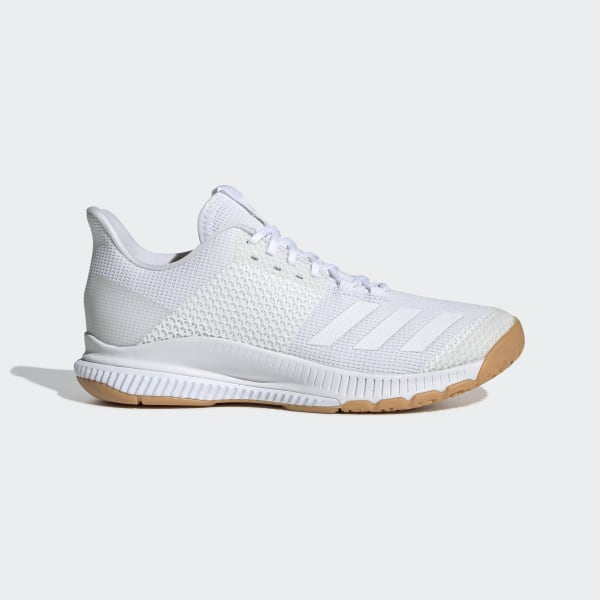 adidas Crazyflight Bounce 3 Shoes - White | adidas UK
