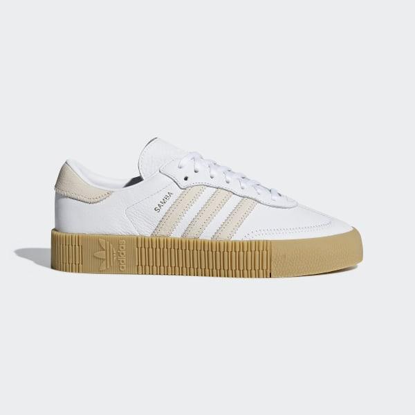 Donna adidas Originals Sambarose W Sneakers Bianco Taglia