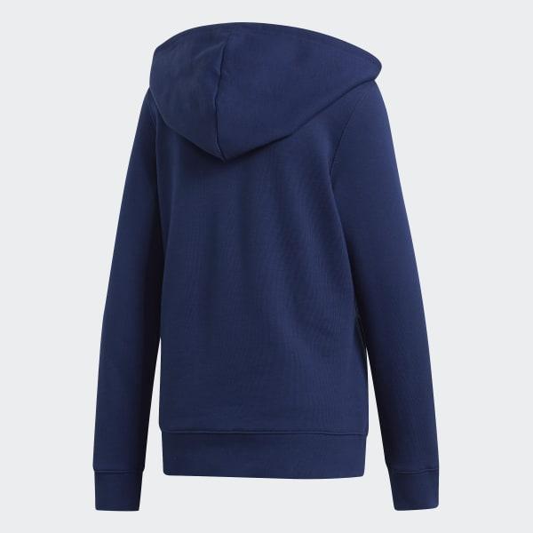 adidas Sweat shirt à capuche Trefoil bleu | adidas Canada