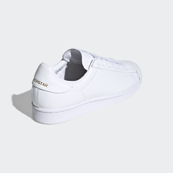 Superstar Pure Schoenen Cloud White / Core Black / Gold Metallic FV3352