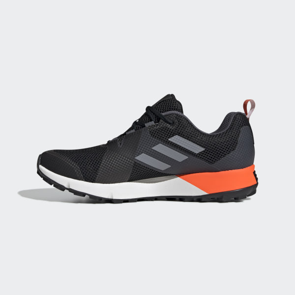 Adidas Performance Men's Trekking Shoe Terrex Two GTX Black Orange