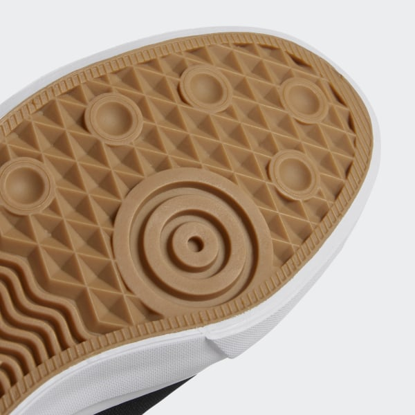 Adidas Core White Shoe On Slip Matchcourt Black Footwear