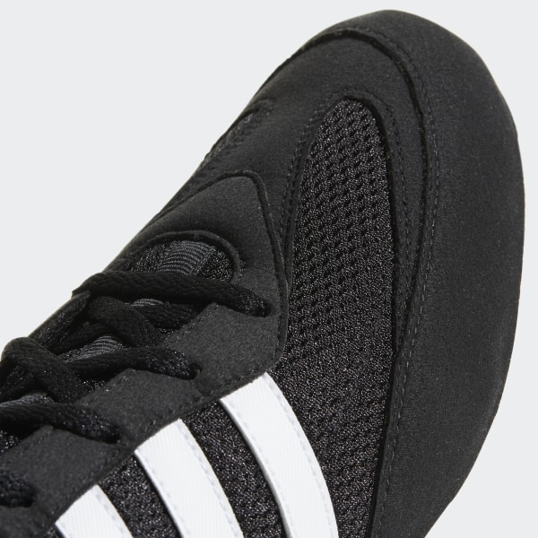 Adidas Box Hog II Boksschoenen Zwart Wit