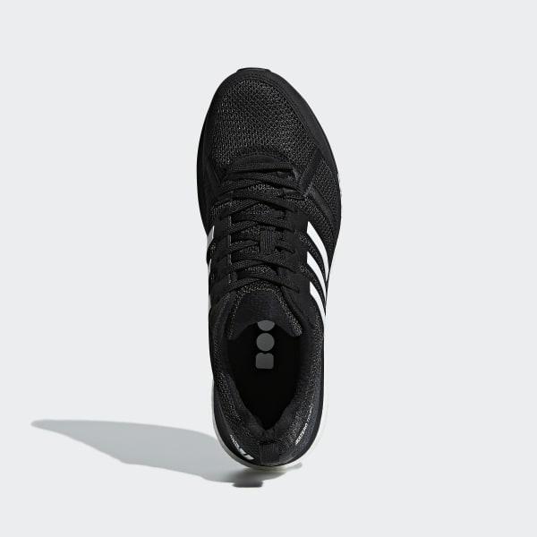 Adidas Men's Adizero Tempo 9 Grey TwoCore BlackSolar