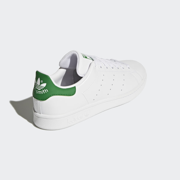 Details about adidas ORIGINALS MEN'S STAN SMITH WHITE GREEN SHOES LEATHER TRAINERS SNEAKERS