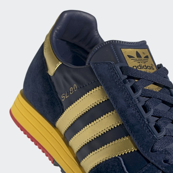 adidas SL 80 SPZL Shoes Blue | adidas UK