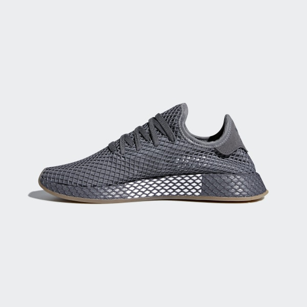 Adidas Deerupt Runner Men/'s Shoes Grey//Cloud White CQ2627