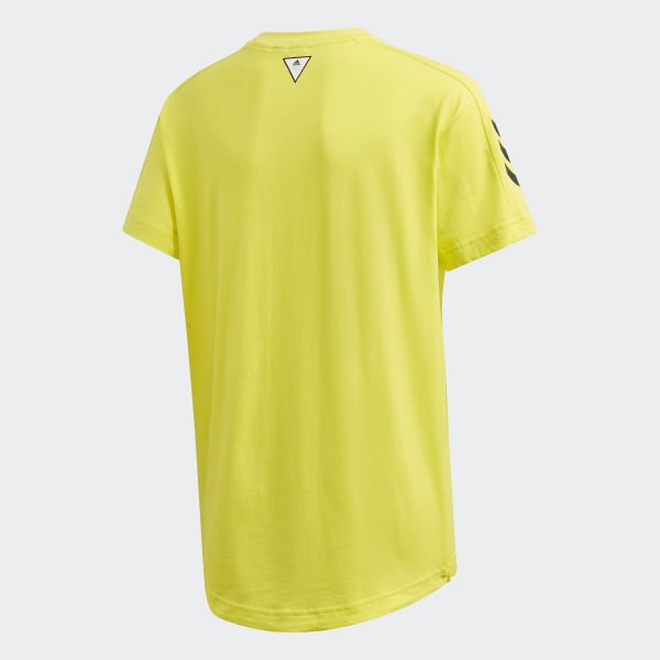 adidas Must Haves T shirt Geel | adidas Officiële Shop