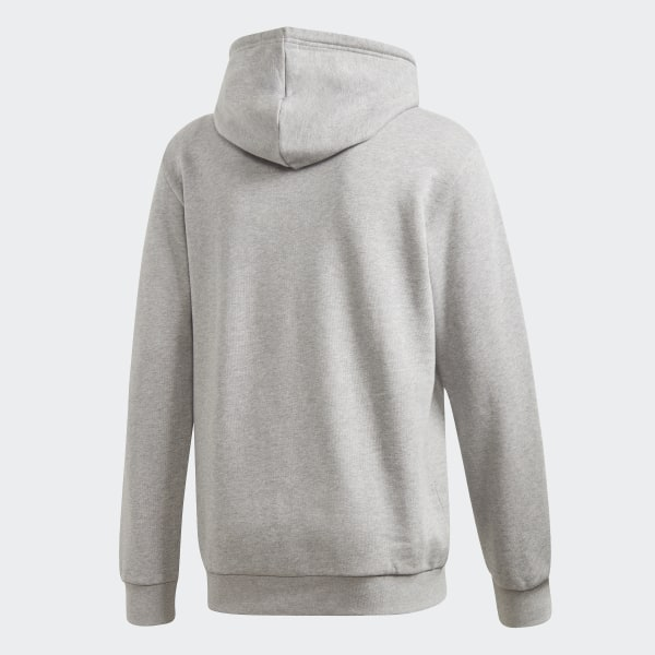 Sweat shirt à capuche Trefoil Essentials Gris adidas | adidas Switzerland
