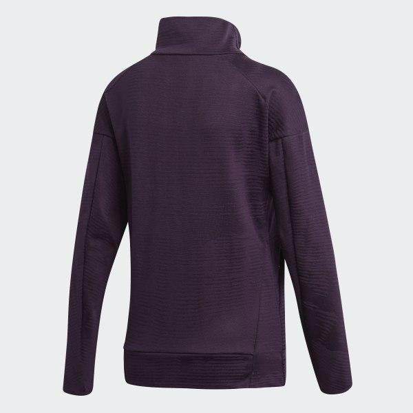 adidas Z.N.E. Pulse Jacquard jakke Lilla | adidas Denmark