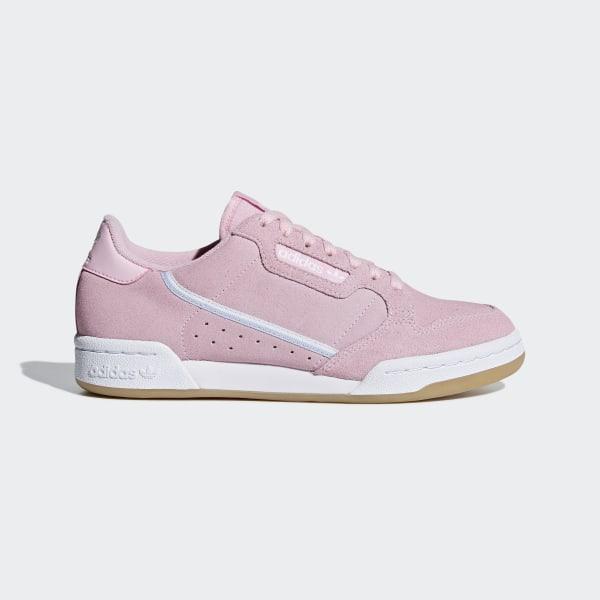 adidas Continental 80 Shoes - Pink | adidas UK