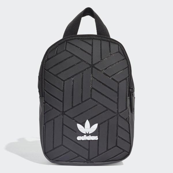 adidas 3D Mini Rugzak - Zwart   adidas Officiële Shop