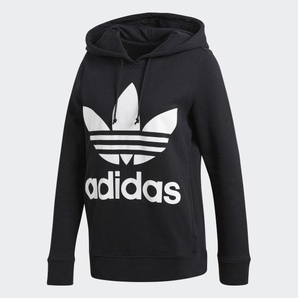 wo zu kaufen am beliebtesten sehen adidas hoodie schwarz