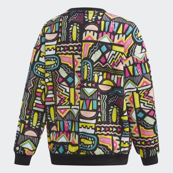adidas Multicolor Crew Sweatshirt Herre