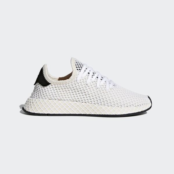 adidas Deerupt Runner Herren Sneaker GrauWeiss
