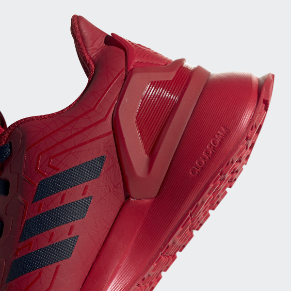 adidas Marvel Spider Man RapidaRun Schoenen Rood | adidas Officiële Shop