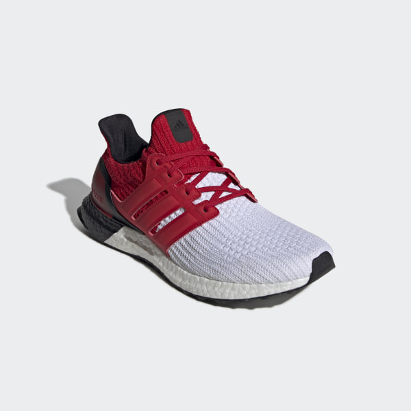 adidas Ultra Boost 4.0 WhiteScarlett Red Available Now