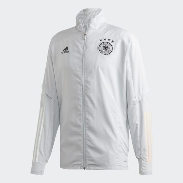 adidas DFB Präsentationsjacke Grau | adidas Deutschland