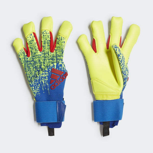 adidas Predator Pro Hybrid Gloves - Yellow | adidas US
