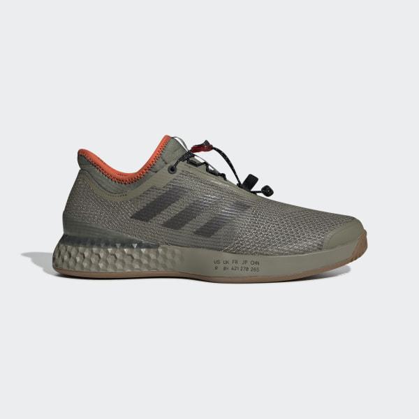 Chaussure Adizero Ubersonic 3 Citified Vert adidas | adidas France
