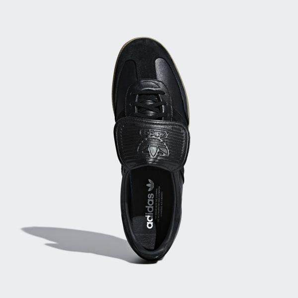 Details zu Adidas Original HERREN Samba Super Turnschuhe Schwarz Retro Classic Leder Schuhe