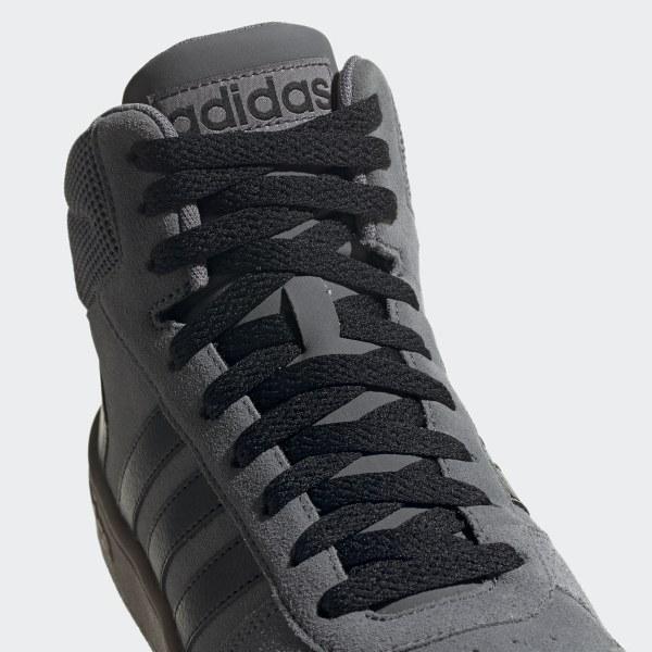 Adidas Hoops 2.0 Mid Schuh Sneaker Herren Grey Four Core