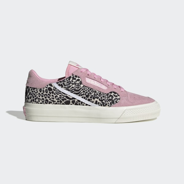 adidas Continental Vulc Shoes Pink | adidas UK