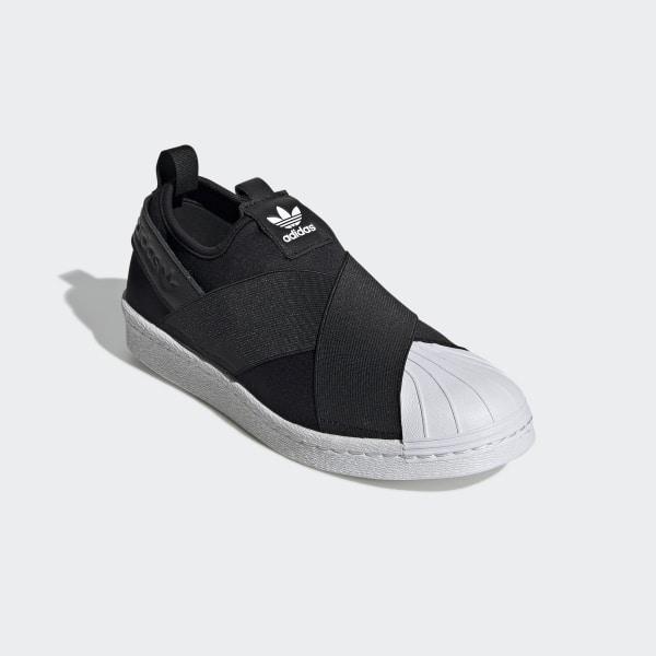 En liquidación varios colores gran variedad de estilos Zapatillas Superstar Slip On - Negro adidas   adidas Chile