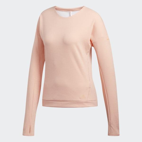 adidas Supernova Run Cru Sweatshirt Rosa   adidas Deutschland