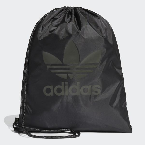 adidas Trefoil Gym Sack - Black | adidas Australia