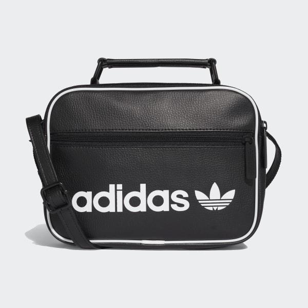 adidas Mini Vintage Airliner Bag Black | adidas Ireland