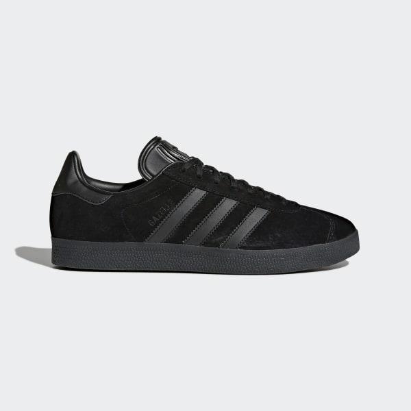 adidas gazelle noir or