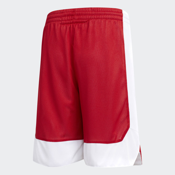 adidas Crazy Explosive Reversible Shorts Red | adidas UK