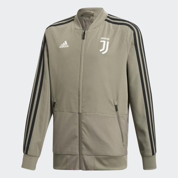 adidas Juventus Presentation Track Top Brown | adidas UK