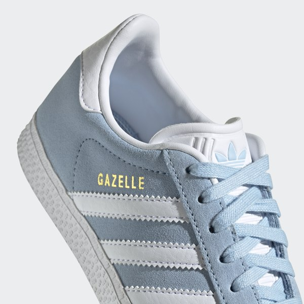 adidas Originals Gazelle (Clear SkyCloud WhiteGold Metallic)