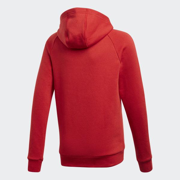 Sweat shirt à capuche Core 18 Rouge adidas | adidas France