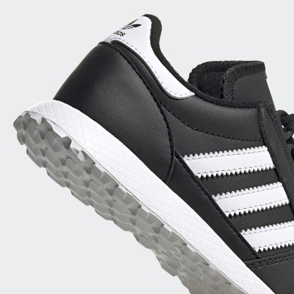 adidas Originals Forest Grove Baskets en cuir noir