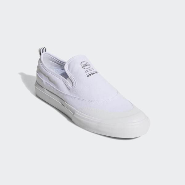 adidas matchcourt slip on skate shoes