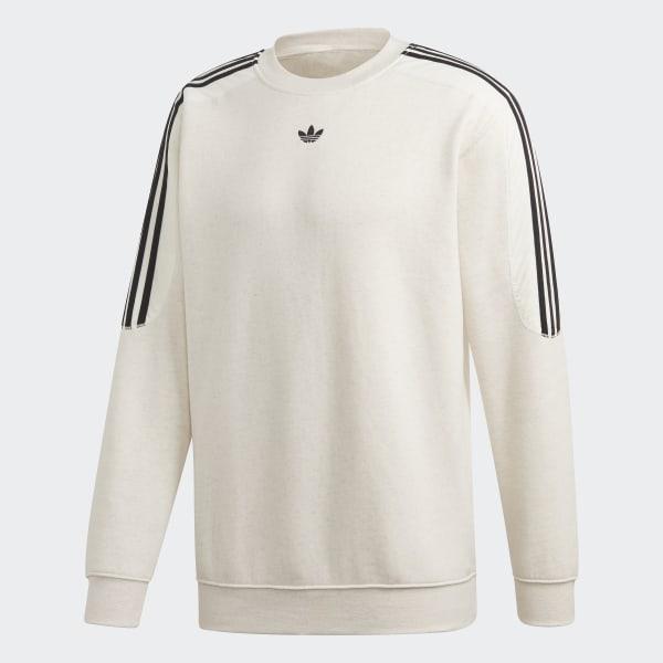 adidas Radkin Crewneck Sweatshirt White | adidas Australia