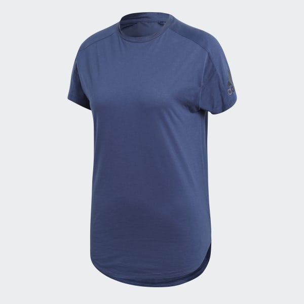 adidas Performance Primeknit Cru Tee T shirts Med Print