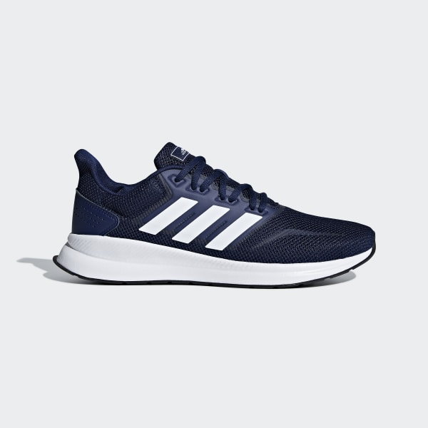 blue chaussures and white running adidas dthrxsQC