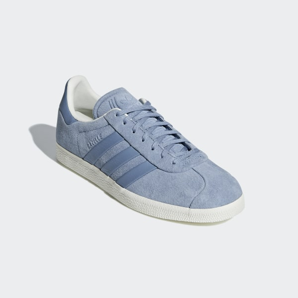 adidas Gazelle Stitch and Turn Shoes Blue | adidas New Zealand