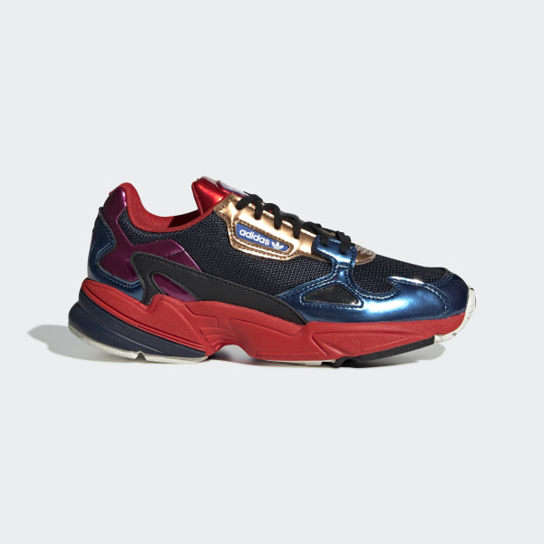adidas originals falcon baskets noir multicolore
