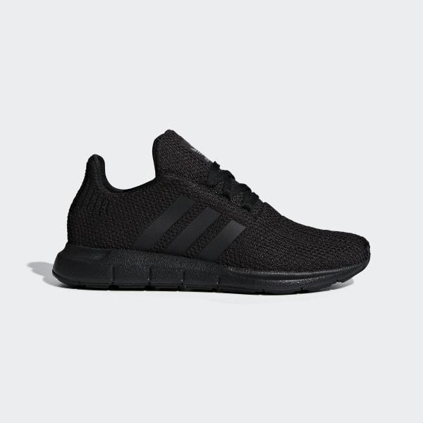 Adidas Swift Run Mens Size 8 Gray Black Originals Prime Knit Sneakers Shoes J