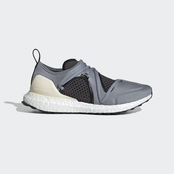 Stella McCartney Grey Ultra Boost Running Shoes With the