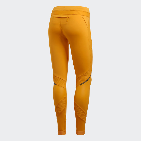 adidas by Stella McCartney Run Long Tight Lucky Orange